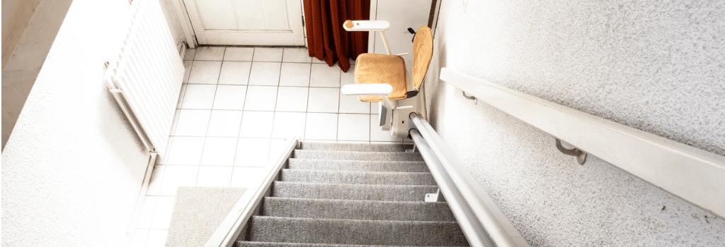 Treppenlift Kosten: die Schienen